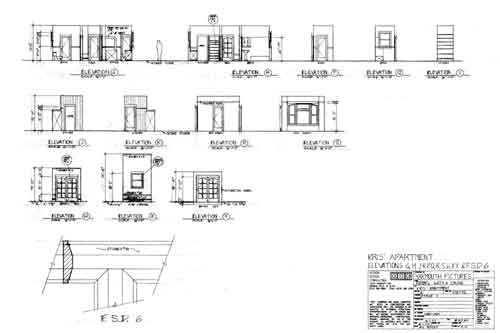 Elevations and full size details