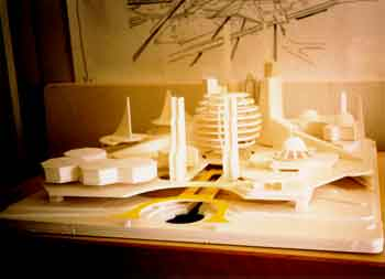 Architectural, Theme Park, Set Design Models